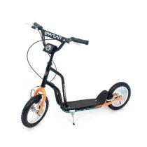Spartan-Sport-Premium-2312-Scooter-12-col-gumikerekes-roller-fekete-sarga