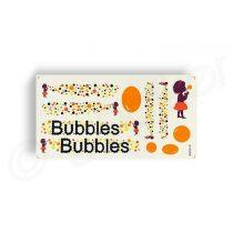 Kerekpar-matrica-17x35cm-Bubbles-narancs-fekete