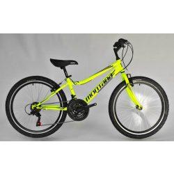 Trans Montana Junior 24 MTB gyermek kerékpár neon sárga-fekete '18