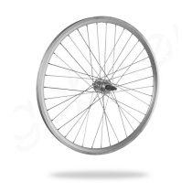 Kerékpár fűzött hátsó kerék 24 MTB (507) DF alu felni ezüst, alu agy
