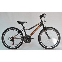 Trans Montana Junior 24 MTB gyermek kerékpár matt fekete-narancs '18