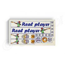 Kerekpar-matrica-20x35cm-Real-Player-kek-narancs
