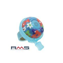 RMS-virag-mintas-kerekpar-csengo-kek-50mm