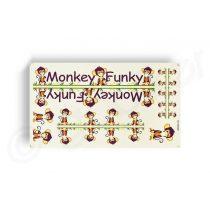 Kerekpar-matrica-20x35cm-Monkey-Funky-zold-narancs