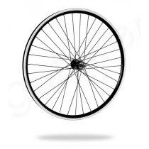 Kerékpár fűzött hátsó kerék 26 MTB (559) DF alu felni fekete-alu agy