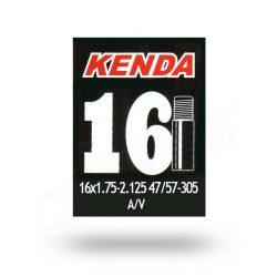 Kenda-16x1-75-2-125-47-57-305-AV-auto-szelepes-kerekpar-gumitomlo