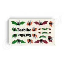 Kerekpar-matrica-20x35cm-Batbike-Life-bordo-zold