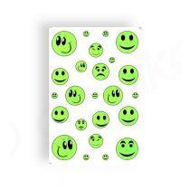 2NET-kerekpar-matrica-17x25cm-Smiley-zold
