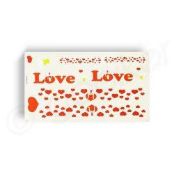 Kerekpar-matrica-20x35cm-Love-feher-piros