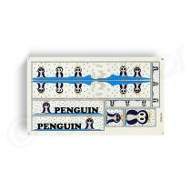 Kerekpar-matrica-20x35cm-Penguin-kek
