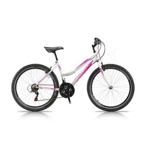 Trans Montana 1.0 26 MTB női kerékpár fehér-pink 15 (2018)