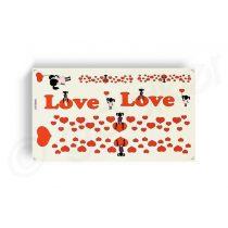 Kerekpar-matrica-20x35cm-Love-piros-fekete