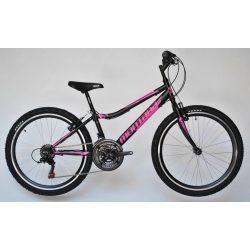 Trans Montana Junior 24 MTB gyermek kerékpár matt fekete-pink '18