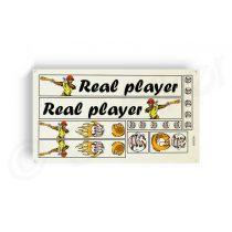 Kerekpar-matrica-20x35cm-Real-Player-fekete-narancs