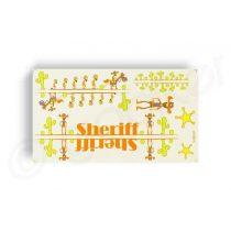 Kerekpar-matrica-20x35cm-Sheriff-narancs-zold
