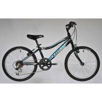 Trans Montana AC 20 MTB kerékpár matt fekete-világoskék '18