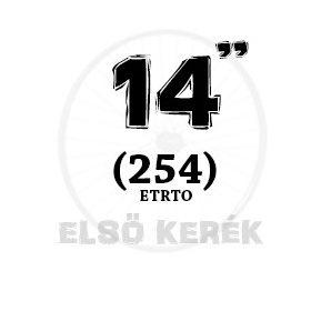 14 coll első kerék (254)
