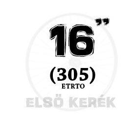 16 coll első kerék (305)