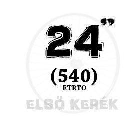 24 coll első kerék (540)