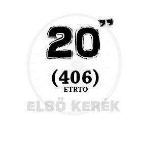 20 coll első kerék (406)