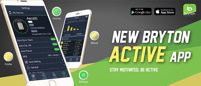 Megjelent a Bryton új mobil applikációja!